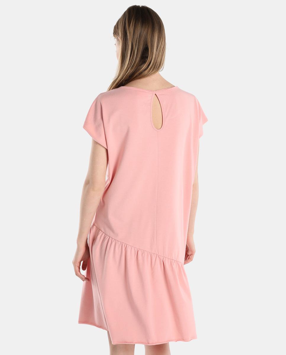 Único Vestidos De Fiesta Cortos Rosa Bajo 100 Ideas Ornamento ...